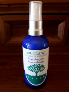 face and body mist ABUNDANCE