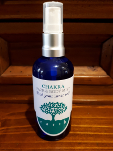face and body mist CHAKRA
