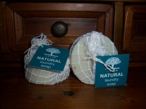 natural laundry soap - stain remover