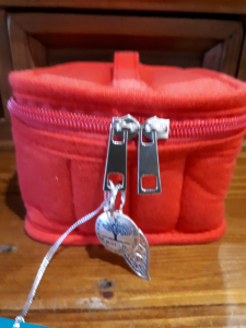 Essential oil traveler bag (red)