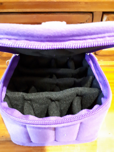 Essential oil traveler bag (purple)